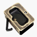 """Amerock 245FWP Allison Value Hardware 3"""" Pull, White and Polished Brass [Misc.]"""