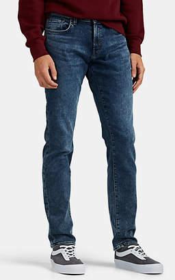 J Brand Men's Kane Acid-Washed Slim-Straight Jeans - Md. Blue