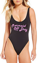 Bikini Lab Summer Dayz Lace-Up Back One-Piece