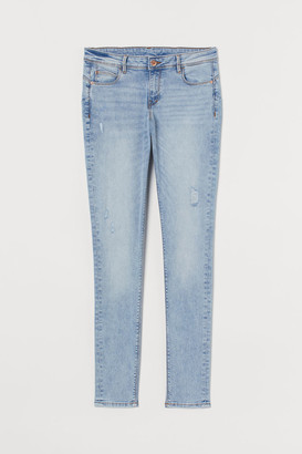 H&M Push Up Low Jeggings - Blue