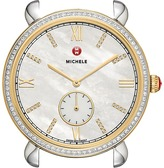 Michele 18mm Gracile Two-Tone Gold Diamond Diamond Dial