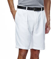 Haggar Cool 18 Straight-Fit Pleated Shorts