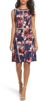 Adrianna Papell Women's Jersey Fit & Flare Dress
