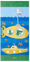 Pottery Barn Kids Classic Submarine Beach Towel