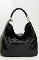 'Roady - Large' Patent Leather Hobo