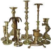 One Kings Lane Vintage Brass Candlesticks