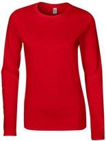 Gildan Softstyle womens long sleeve t-shirt L