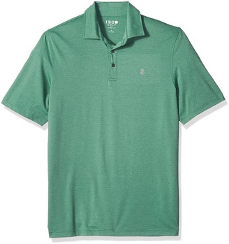 Izod Men's Tall Golf Cut Line Short Sleeve Solid Polo