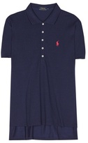 Polo Ralph Lauren Cotton-blend Piqué Polo Shirt