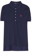 Polo Ralph Lauren Cotton-blend piqué polo shirt
