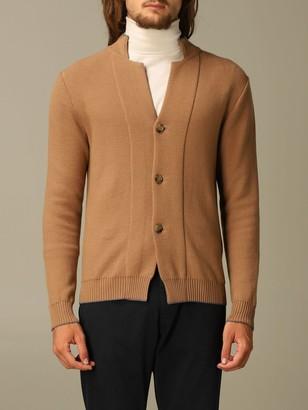 Eleventy Sweater Cardigan In Virgin Wool