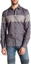 Belstaff Woodham Long Sleeve Striped Shirt
