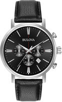 Bulova Womens Silver-Tone White Mother Of Pearl Dial Diamonds Collection Bracelet Watch 96P174