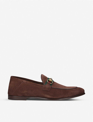 Gucci Brixton suede loafer