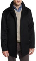 Peter Millar Madison Wool/Cashmere-Blend Trend-Fit Coat