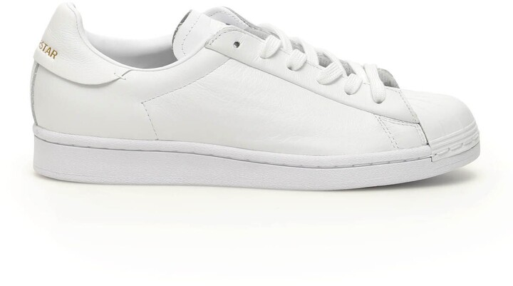 adidas SUPERSTAR PURE LT SNEAKERS 4,5 White Leather