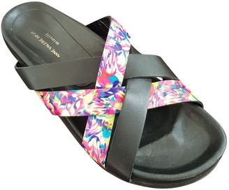 Anne Valerie Hash Multicolour Leather Sandals