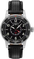 Burberry Men's Swiss GMT Black Leather Strap Watch 42mm BU7854
