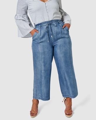 Indigo Tonic Rachel Soft Chambray Pants