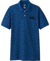 Uniqlo Men's Star Wars Printed Pique Polo Shirt