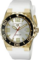 Swiss Legend Men's 10008-YG-02S-BB Expedition Dial White Silicone Watch