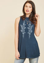 ModCloth Fly by the Seat of Your Paints Tank Top in 4X