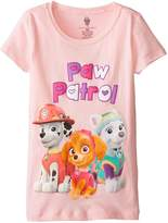 Nickelodeon Paw Patrol Little Girls' Short Sleeve T-Shirt Shirt