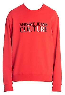 Versace Men's Logo Pullover Sweatshirt