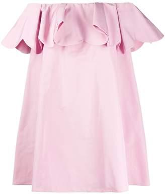 Valentino scalloped mini dress