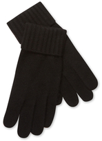Portolano Cashmere Ribbed Gloves