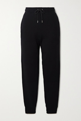 Paco Rabanne Printed Cotton-jersey Track Pants - Black