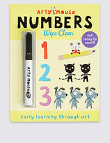 Marks and Spencer Arty Mouse Numbers Wipe Clean Book