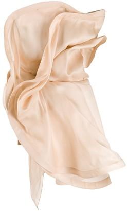 Nina Ricci Oversized Ruffled Top