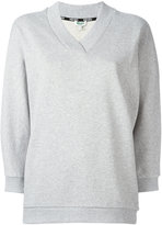 Kenzo V-neck sweatshirt - women - Cotton - L