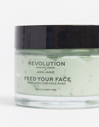 Revolution Skincare x Jake - Jamie Mint Chocolate Chip Face Mask