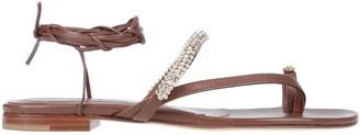 LE CAPRESI Toe strap sandals