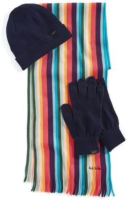 Paul Smith Hat, Gloves & Scarf Gift Set