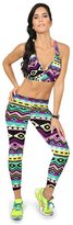 Willtoo(TM) Fitness Yoga Printed Stretch High Waist Sport Pants Cropped Leggings