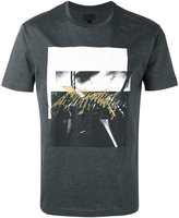Les Hommes Amazon collage print T-shirt - men - Cotton - S