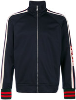 Gucci GG web technical jersey jacket - men - Cotton/Polyamide/Polyester/Wool - S