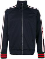 Gucci GG web technical jersey jacket