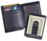 Royce Leather Saffiano Money Clip ID Wallet