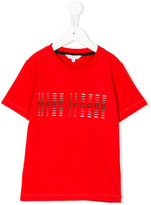 Little Marc Jacobs logo print T-shirt