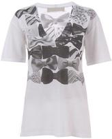 STELLA MCCARTNEY - Oversized bow print t-shirt