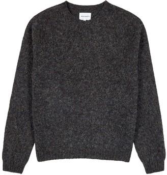 Norse Projects Birnir charcoal wool jumper