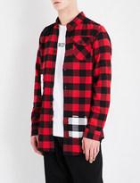 Boy London 1976 checked regular-fit cotton-flannel shirt