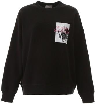 Alexander McQueen Graphic Printed Sweatshirt
