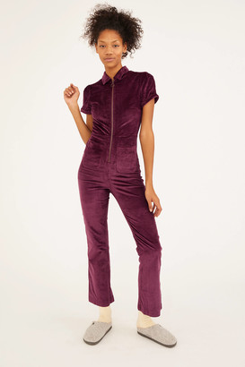 Urban Outfitters Clark Corduroy Zip-Front Coverall
