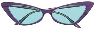 Gucci GG0708S cat-eye sunglasses