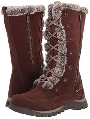 Skechers Grand Jams (Chocolate) Women's Boots